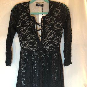 Few Moda NY Black Lace Dress